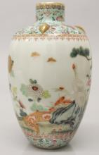 A FINE QUALITY EARLY 20TH CENTURY CHINESE REPUBLIC PERIOD FAMILLE ROSE PORC