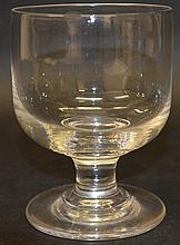 A 19TH CENTURY DUMMER U SHAPED GLASS, CIRCA. 1850.