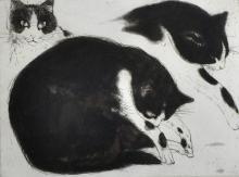Elizabeth Violet Blackadder (1931-    ) British.