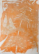 Andrew Southall (1947-    ) Australian. Untitled, Lithograph, Signed with Initials and Dated '88 in Pencil, Unframed, 38