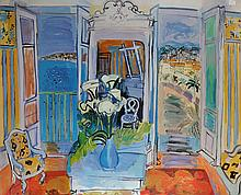 After Raoul Dufy (1877-1953) French. 'Open Window', (1928), Print, 38