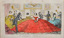 After George Cruikshank (1792-1878) British. 'A Splendid Spread', Print, 3.25