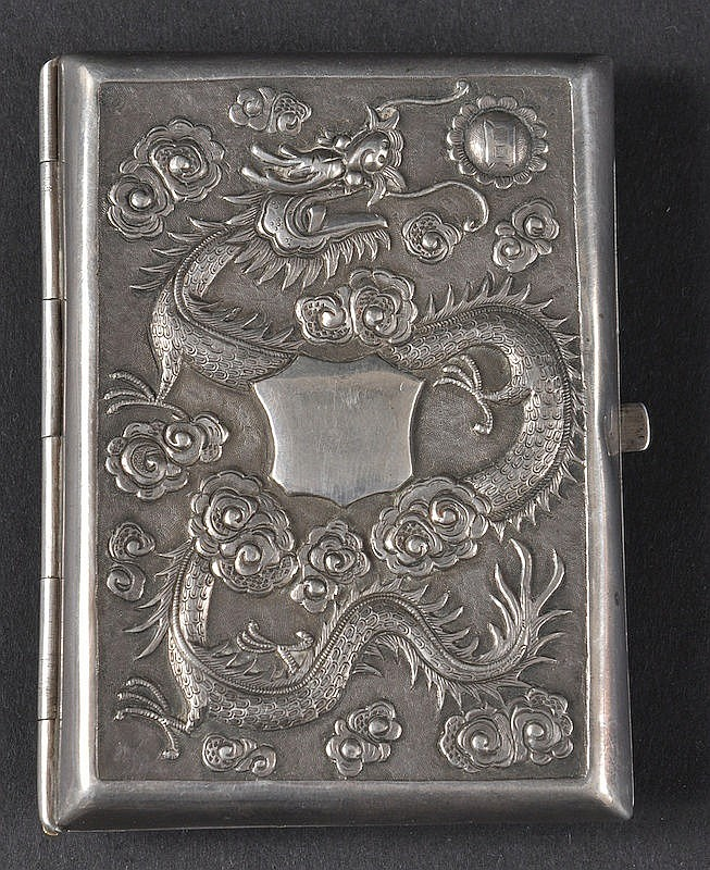 A LATE 19TH CENTURY CHINESE EXPORT SILVER