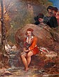 OIL PAINTING: THOMAS UNWINS (1782-1857) BRITISH