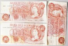 THREE TEN SHILLING NOTES.