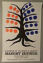 Alexander Calder 1971 Galerie Maeght Exhibition Poster