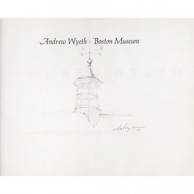 Andrew Wyeth (1917-2009) Original Pencil Drawing