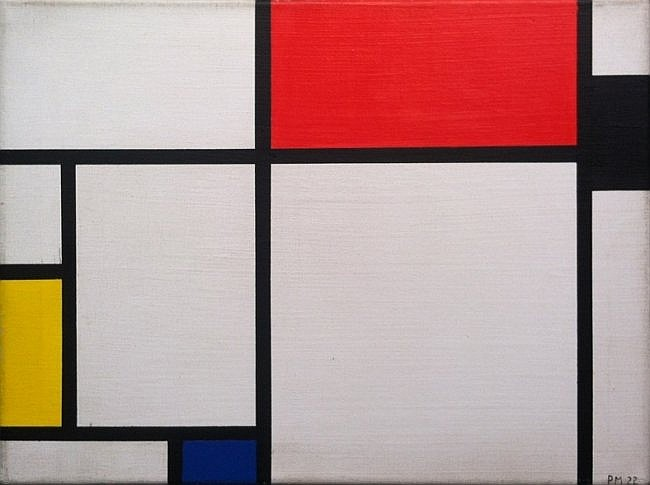 Piet Mondrian (1872-1944), Oil on Canvas, After