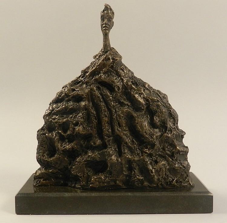 Alberto Giacometti (Swiss, 1901-1966) Bronze Sculpture