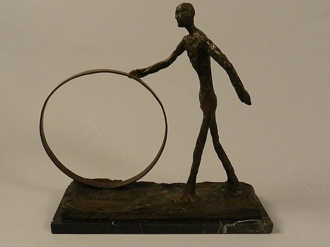 Alberto Giacometti Bronze Sculpture (After)