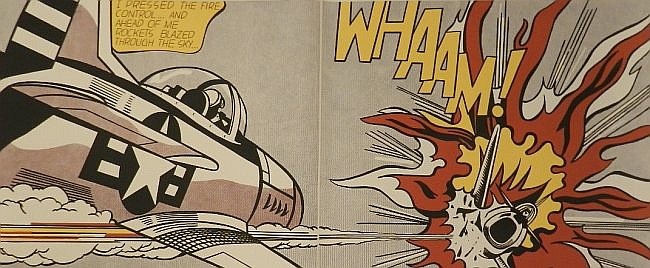 ROY LICHTENSTEIN WHAAM! (Pencil Signed) 1988
