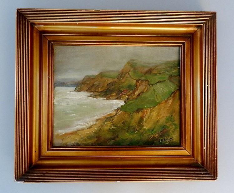James Humbert Craig (1877-1944) Oil On Board