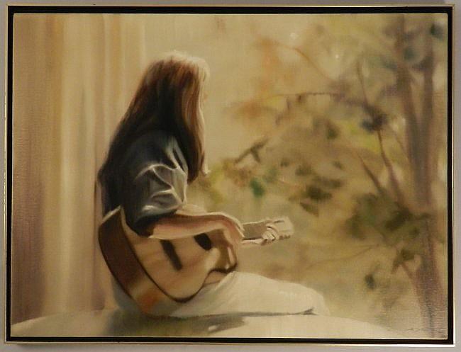 Original Hal Singer Oil on Canvas