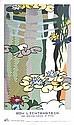 Lichtenstein-Water Lilies with Japanese Bridge 1997