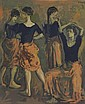 Moses Soyer (1899-1975) Lithograph
