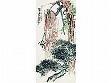 Wang Geyi (1897-1988) Bailing Shou dispersion dew