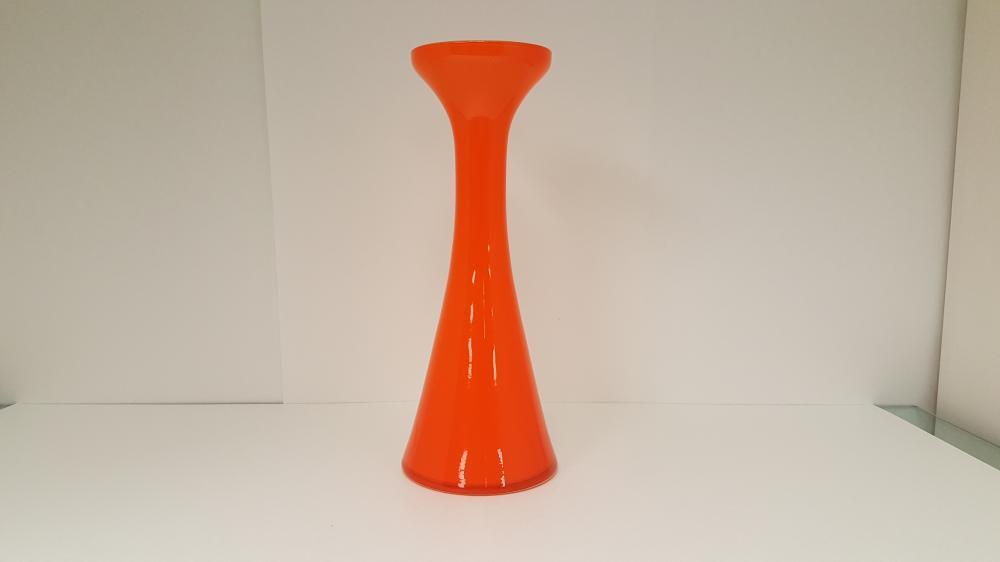 Mid Century Modern Cased Glass Vase