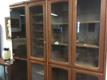CHISWELL WALL UNIT WITH GLAZED DOORS