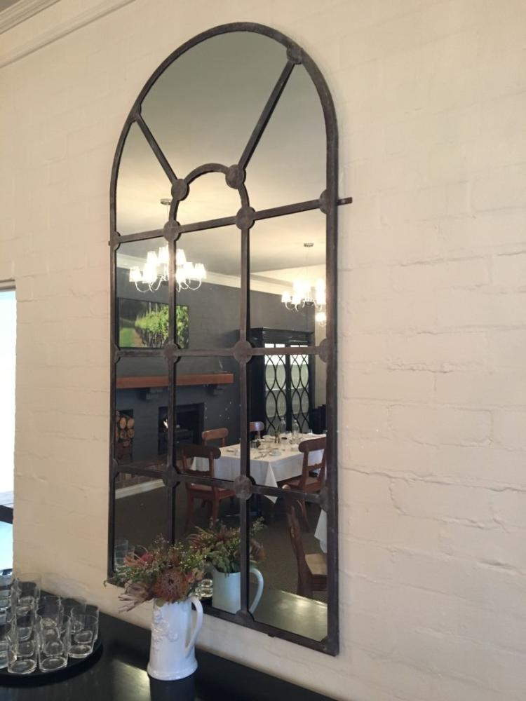 Wrought Iron Framed Mirror