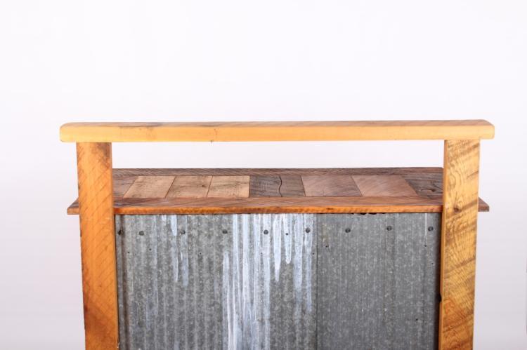 Montana Rustic Reclaimed Timber Potting Bench