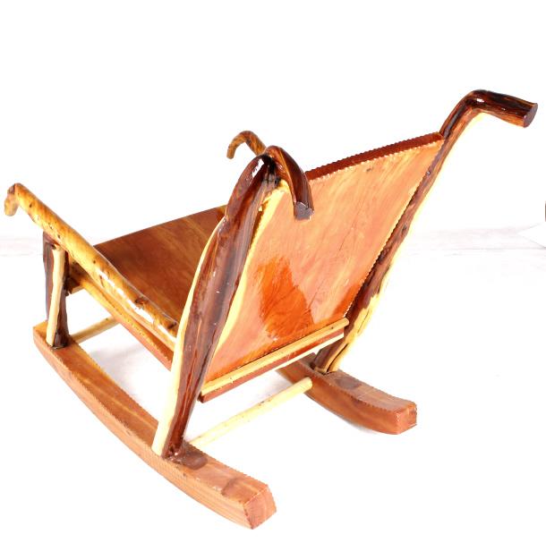 Rustic Montana Juniper Custom Rocking Chair