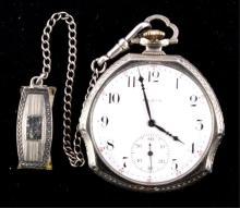 Elgin Pocket Watch 14kt Gold Filled circa 1911 Thi