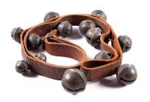 Antique Montanan Bronze Sleigh Bells This set of a
