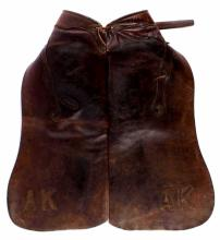 Ario Victor Saddle Company Batwing Chaps Montana T