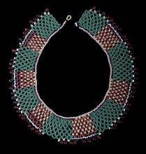 Kiowa Beaded Choker Necklace circa 1890-1900