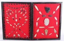 Pre-Historic Indian Arrowheads Spears & Artifacts