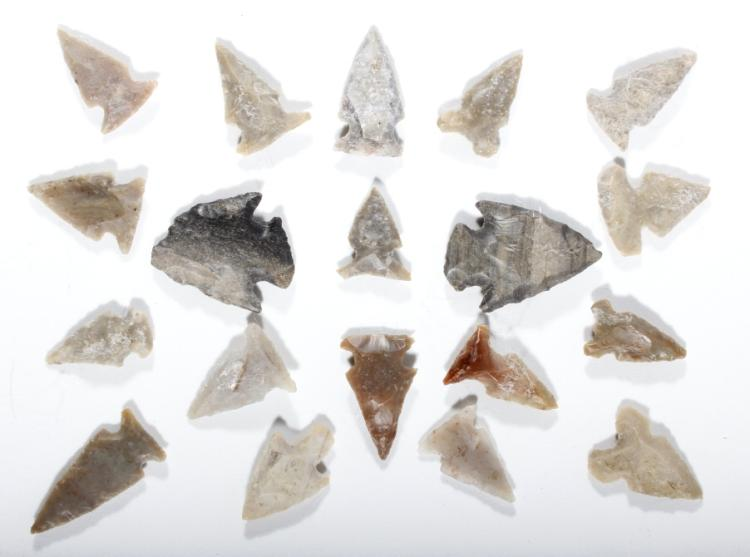 Ancient Arrowhead Artifacts from South Dakota