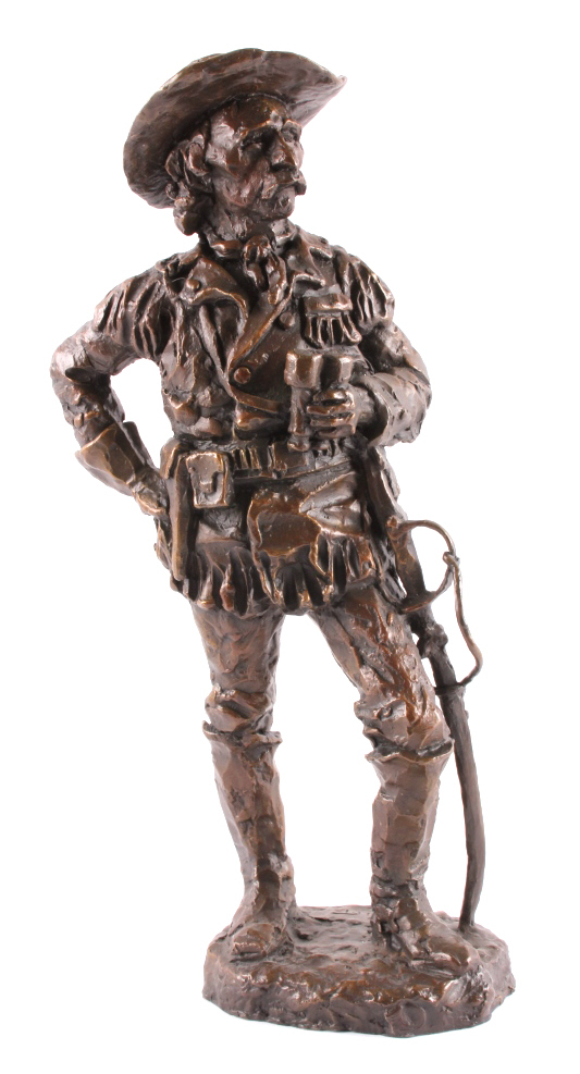Gary Schildt General Custer Bronze Sculpture