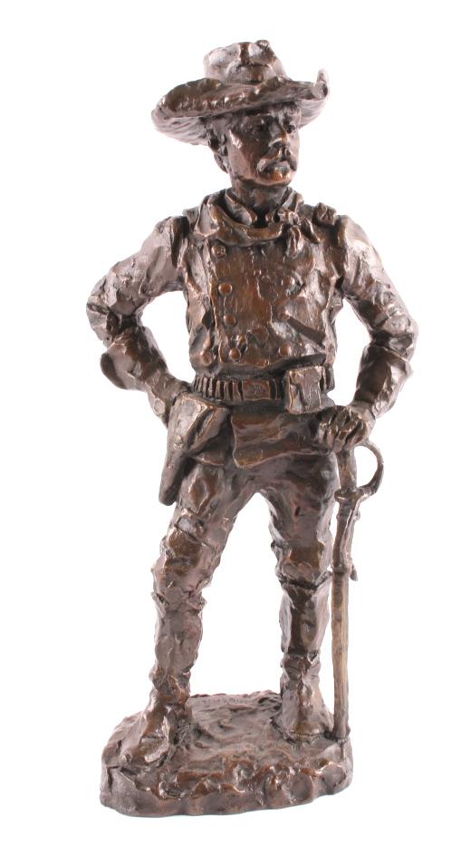 Gary Schildt Major Reno Bronze Sculpture