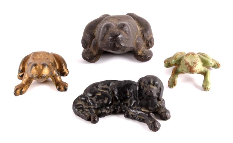 Antique Cast Iron Paperweight Collection