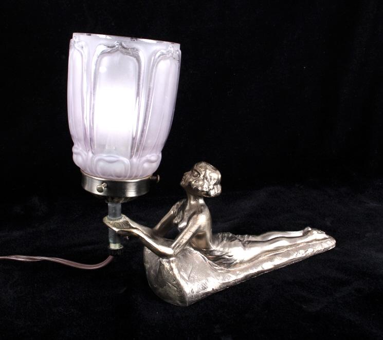 Art Deco Custom Designed Lamp