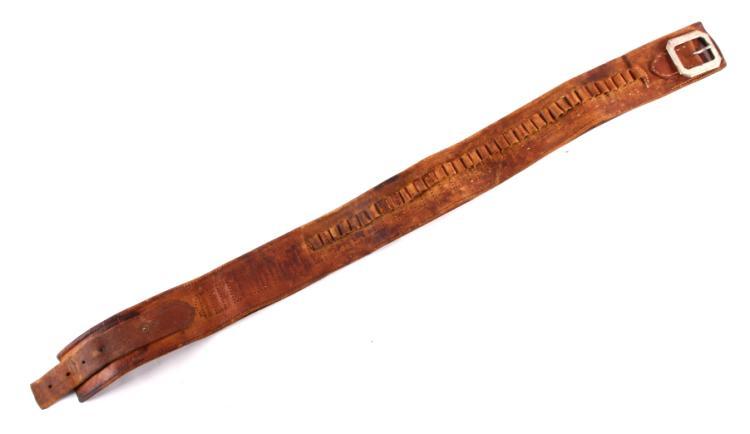 1880's D&M Marked Montana Cowboy Ammo Belt