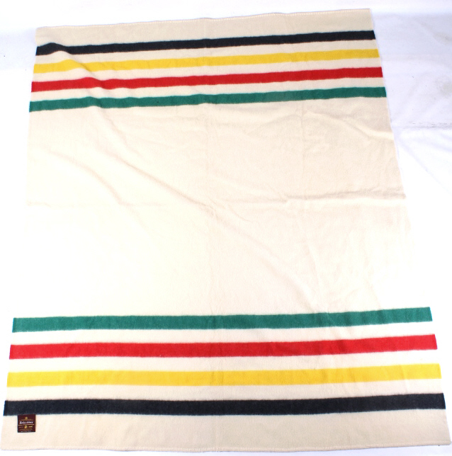 Early's Of Whitney Striped Fur Trade Blanket
