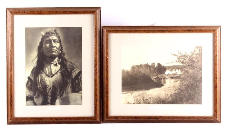 E.S. Curtis Framed Native American Prints