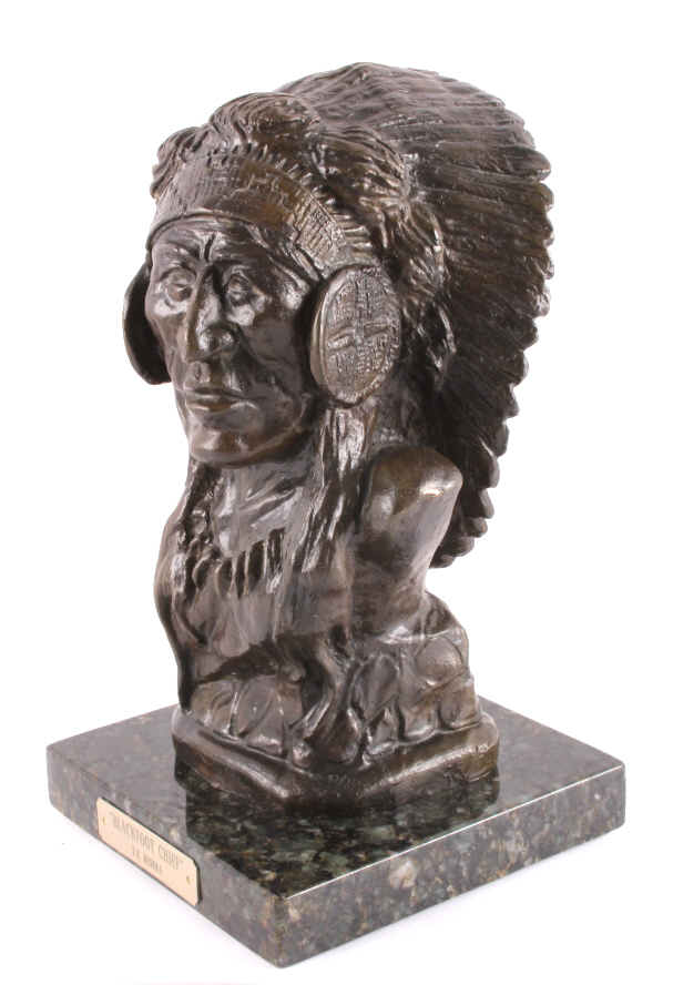 Earl Heikka (1910-1941) Original Bronze Sculpture