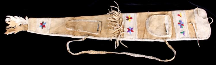 Assiniboine Native American Indian Rifle Scabbard