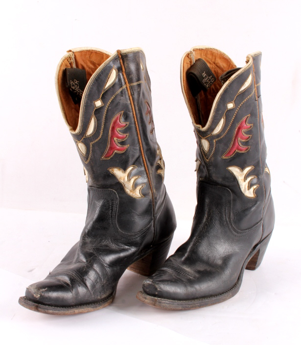 1940's Frye Ladies Inlaid Cowboy Boots