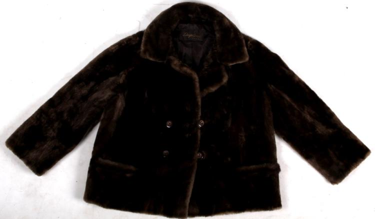 Duplers Mink Real Fur Waist Coat