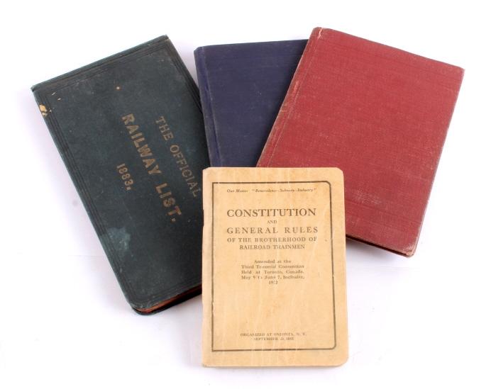 Antique Railroad Book Collection
