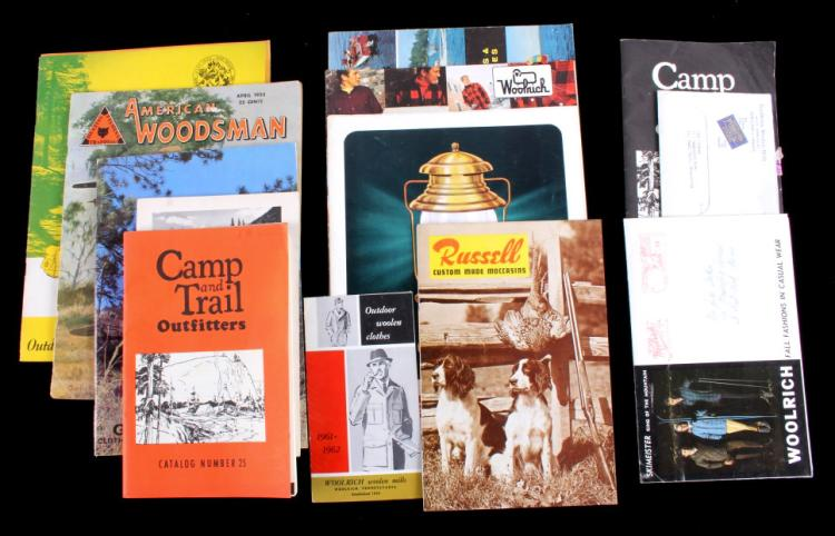Camping and Outdoor Catalog Collection