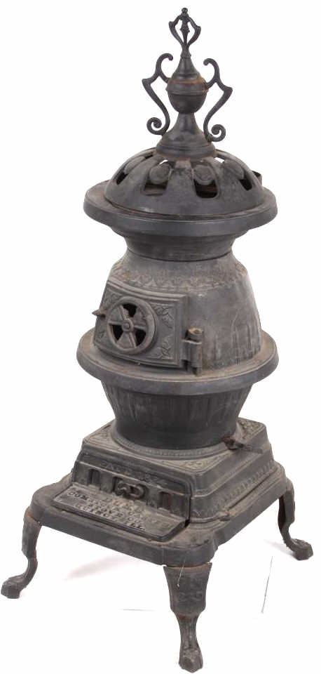 Duke Comstock Castle Junior Sized Pot Belly Stove