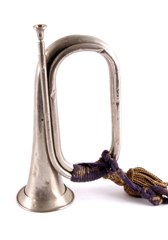 Antique Bugle with Tassels