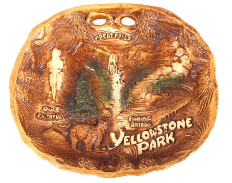 1950's Yellowstone Park Tray By Taco