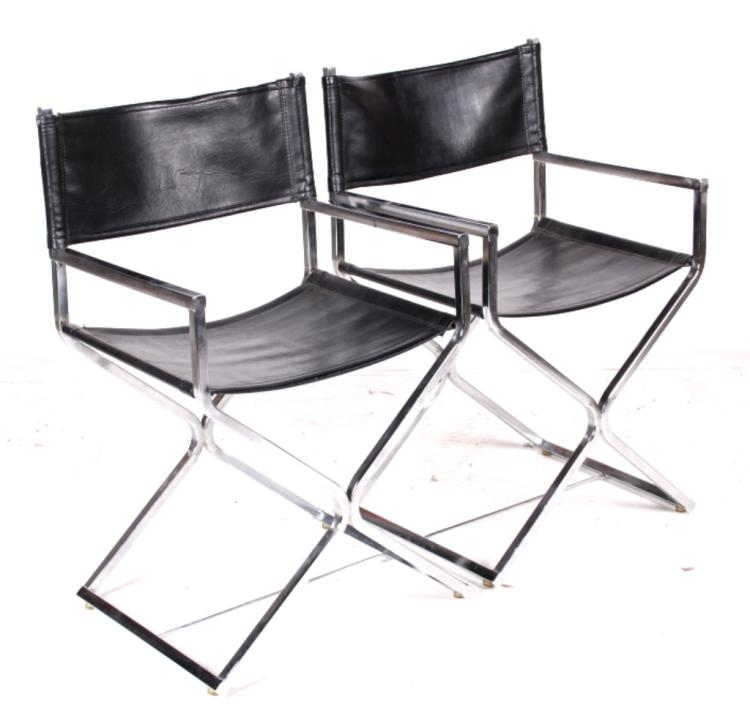 Virtue Brothers Jakobsen Director Chairs c. 1960's