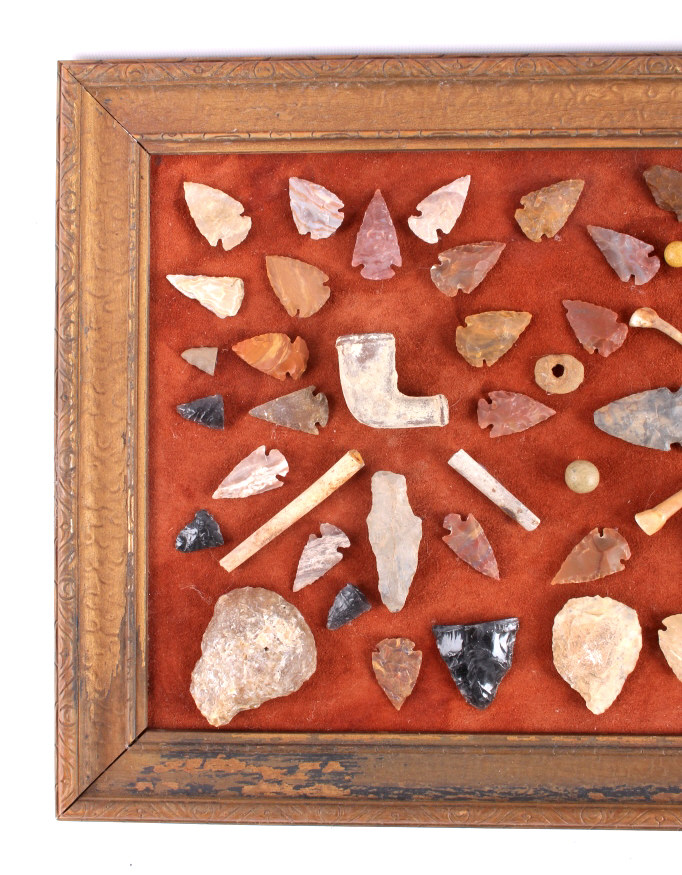 Native American Indian Artifact Collection