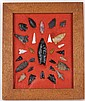 Western Native American Arrowhead Collection